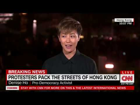 2 million ppl protest ignites solidarity in Hong Kong | Denise Ho on CNN with Fareed Zakaria