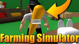 MÁM MRKVOVÝ BACKPACK!😂🥕Roblox: Farming Simulator