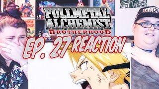 "Fullmetal Alchemist: Brotherhood Episode 27 REACTION!! ""Interlude Party"""