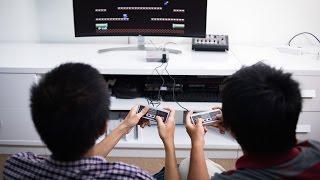 Trên tay máy chơi game Nintendo NES Mini