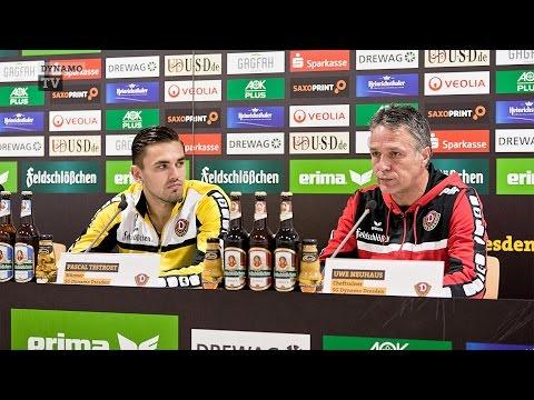 17. Spieltag |AUE - SGD | Pressekonferenz vor dem Spiel