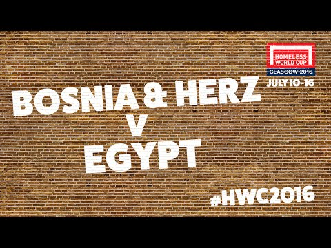 Bosnia & Herzegovina v Egypt | Group A #HWC2016