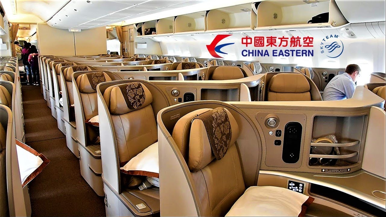 China Eastern Business Cl 777 Chicago O Hare To Shanghai Pudong