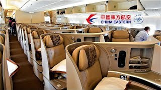 China Eastern Business Class 777 Chicago O