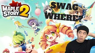 SWAG WHERE? - Maplestory 2 (PC) Live Stream and More!