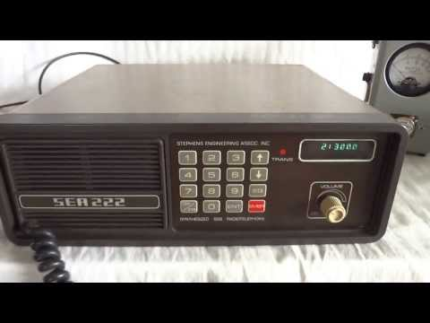 Stephens Engineering Association SEA222 Hf SSB marine transc
