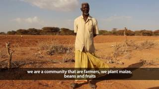 """Farming has stopped for over a year because of the drought"" - Hussein, Somalia"