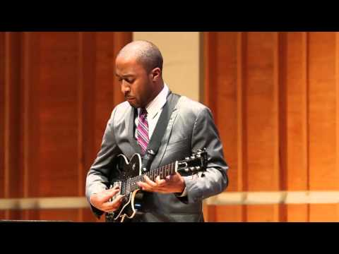 Dan Wilson - Cotton Tail - Wes Montgomery Jazz Guitar Competition