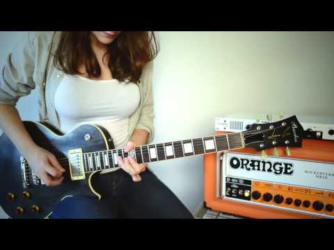 Laura Cox - Jamming on my Orange Rockerverb 50 MKIII