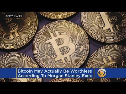 Morgan Stanley: Bitcoin May Actually Be Worth $0