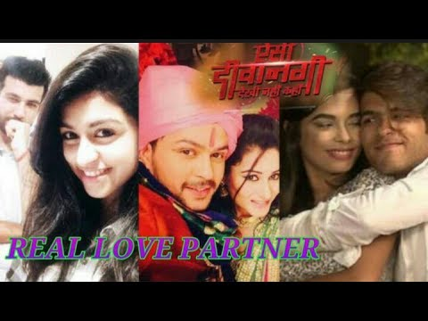 REAL LOVE PARTNERS OF AISI DEEWANGI DEKHI NAHI KAHIN ACTORS |