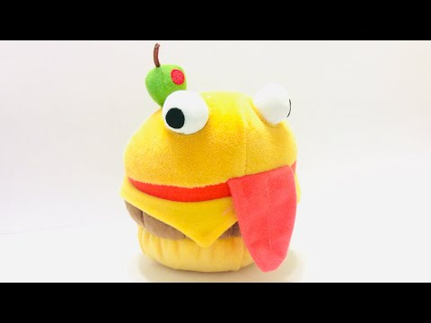Fortnite Durr Burger Plushy Review !!!