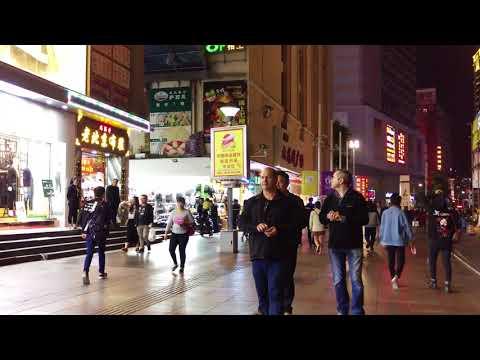 帶妳逛 中國 深圳 老街 4 4k Shenzhen, China Street 深セン、中国の通り 심천, 중국 거리