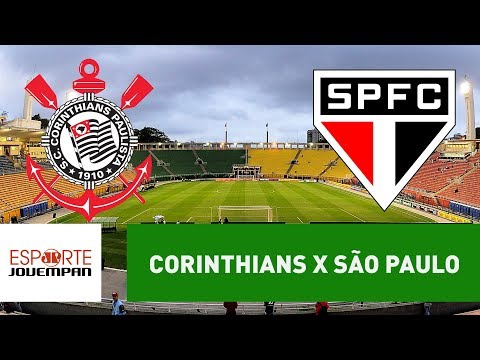 Corinthians X São Paulo - AO VIVO  -  27/01/18
