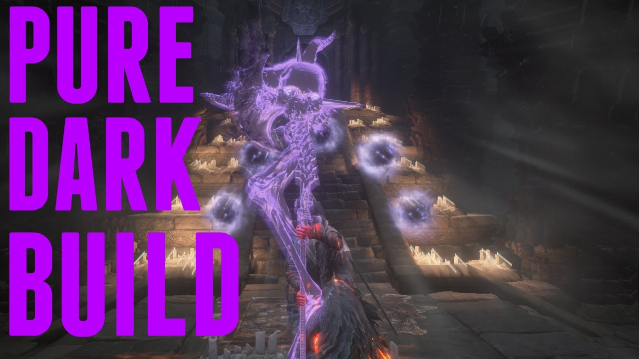 Dark Souls 3 - Crucifix of The Mad King True Dark Build and PvP! Absolutely  Everything Dark Damage!