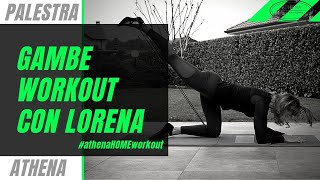 Athena home Workout Gambe
