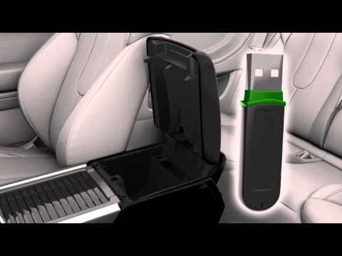 Range Rover Evoque 12 модельного года: система подключения аудиоустройств