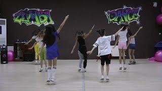 Download lagu Meghan Trainor - Better When I'm Dancing easy kid dance / zumba choreography
