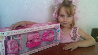 видео Игрушки для девочек > Кухни, бытовая техника и аксессуары > Бытовая техника > Стиральные машины