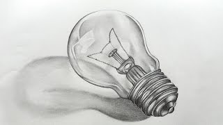 How To Sketch Bulb Youtube