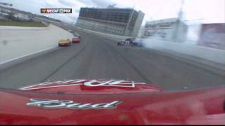 [HD] Nascar - SOUND of spins and crashes 2010