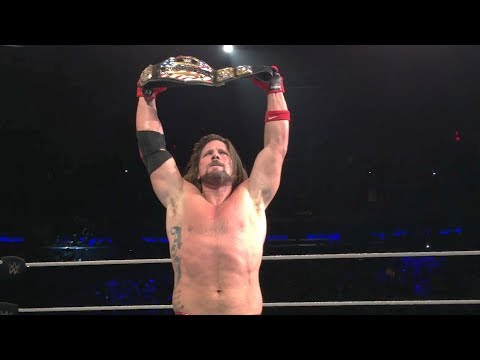 Alternate angles of AJ Styles winning the U.S. Title from Kevin Owens at Madison Square Garden