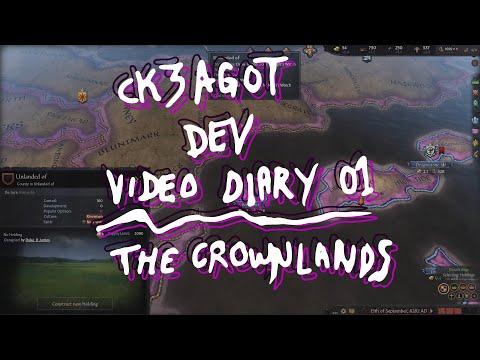 CK3AGOT - Video Dev Diary 01 - Crownlands Map |