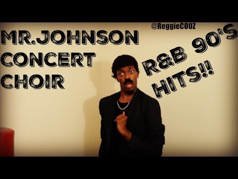 Mr.Johnsons Concert choir presents #90sThrowbacks