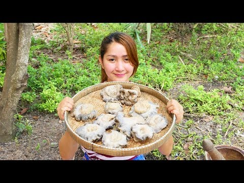 Yummy Sea Mushroom Frying Soaked Chili Sauce – Sea Mushroom Cooking- Cooking With Sros