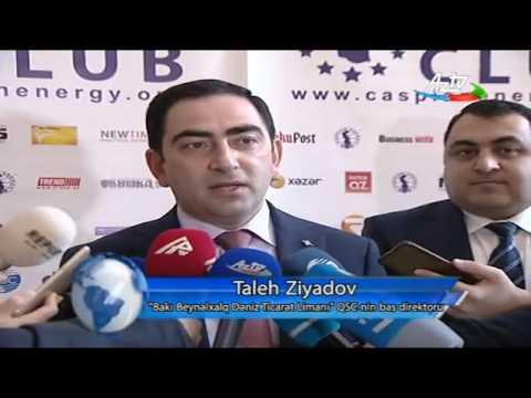 """Taleh Ziyadov """"Caspian Energy Forum 2017"""" nin qonağı olub"""