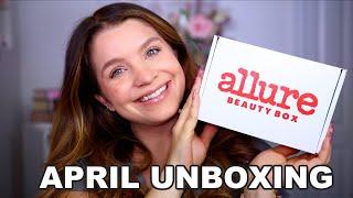 APRIL ALLURE BEAUTY BOX UNBOXING 2021