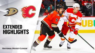 Anaheim Ducks vs Calgary Flames | Feb.17, 2020 | Game Highlights | NHL 2019/20 | Обзор матча