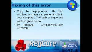 Fixing of windows runtime error 216