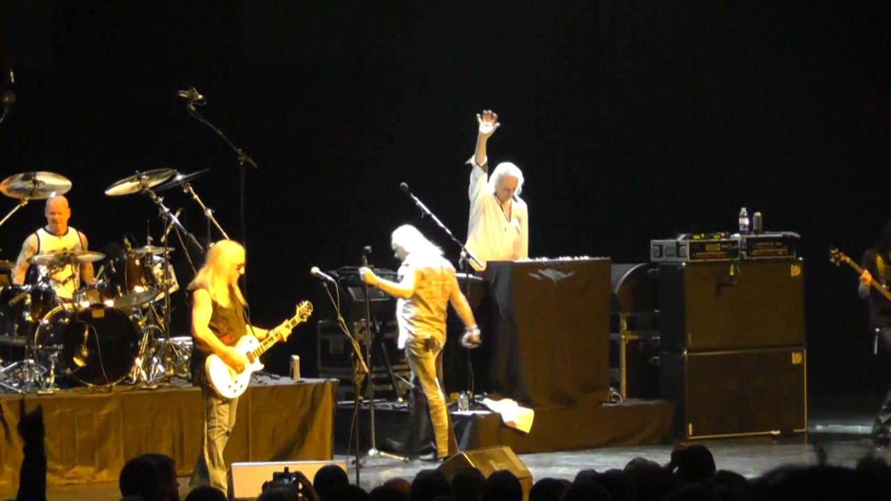 Uriah Heep Live Moscow 2015 Full Hd Outsider Tour Youtube
