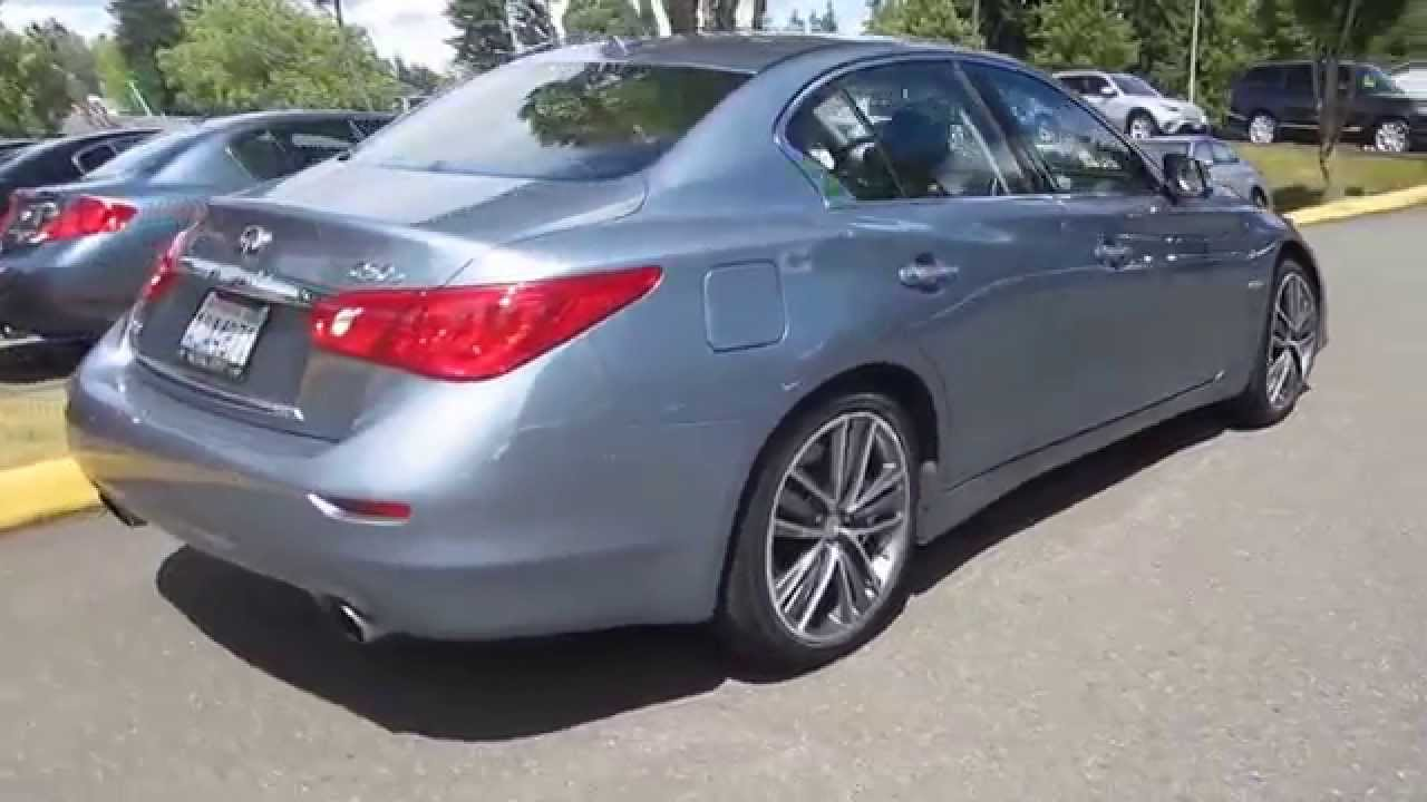 2014 Infiniti Q50 Hagane Blue Stock 14516a Walk