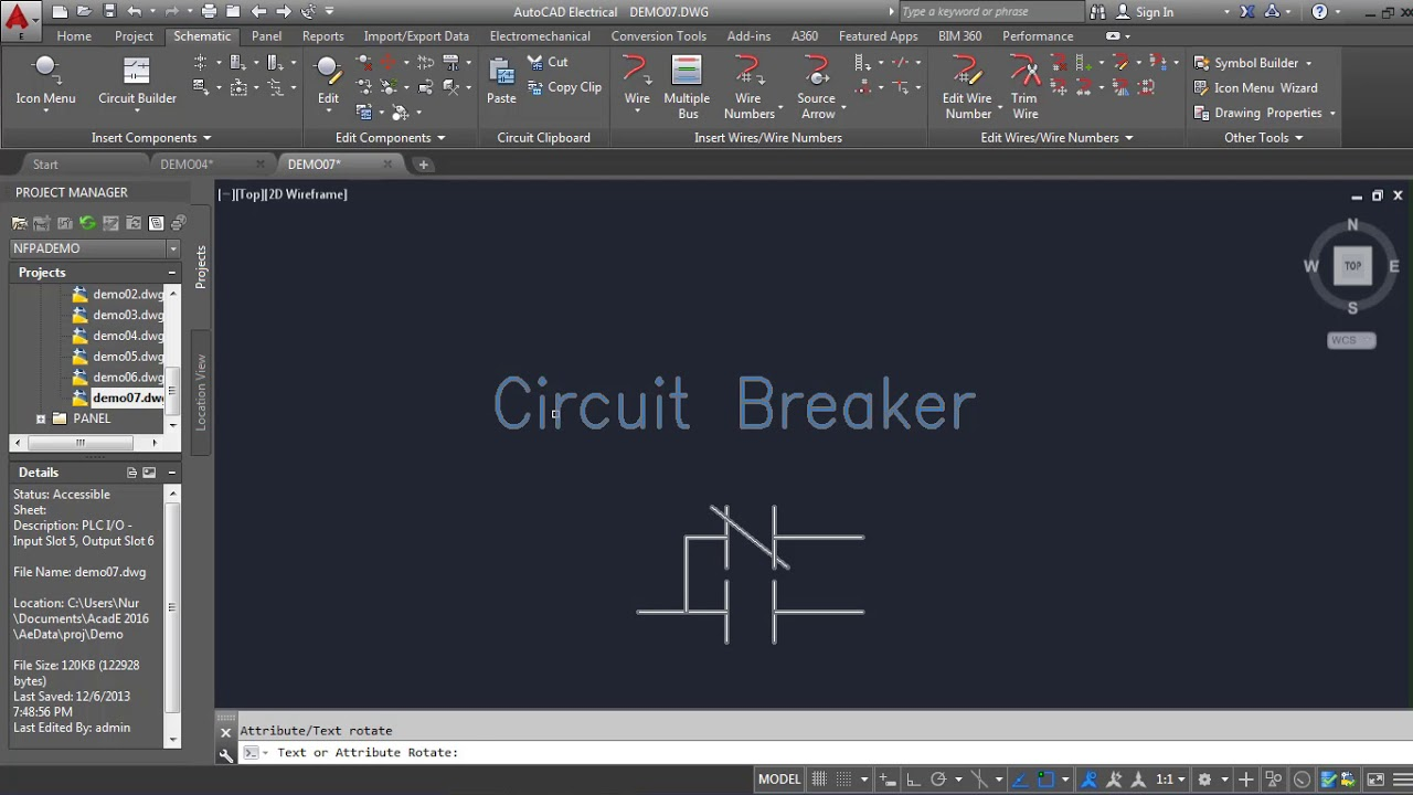 Autocad Electrical Drawing Tutorial Bangla Class 09 How To Use Breaker Panel Diagram