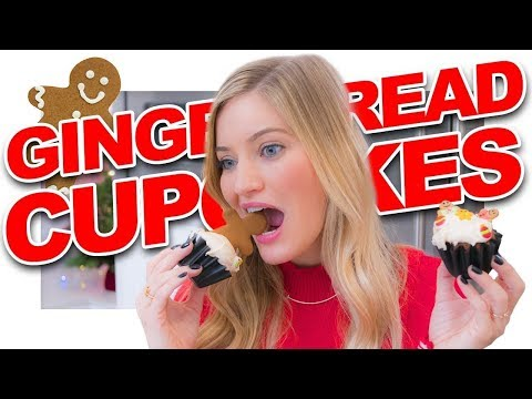 How to make Gingerbread Cupcakes!