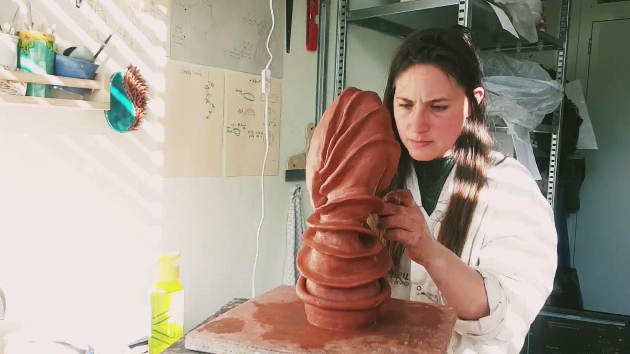 Tamar Yogev - ceramic art process