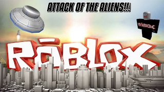ROBLOX: THE UFO ATTACKS!!! THE ATTACK OF THE ALIENS!!! w/ Kid Reviewer WP2