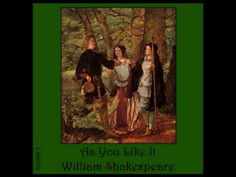 As You Like It by William SHAKESPEARE read by  | Full Audio Book