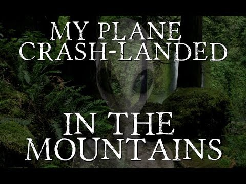"""My Plane Crash-landed in the Mountains"""