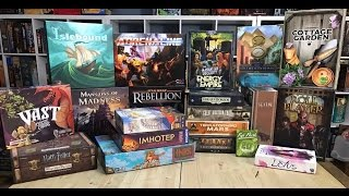 Top 11 Board Games of 2016 - Board Game Spotlight