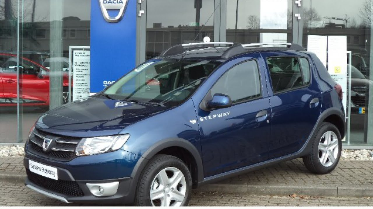 dacia sandero 0 9 tce easy r stepway laur ate automaat youtube. Black Bedroom Furniture Sets. Home Design Ideas
