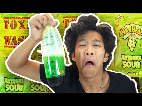 DIY EXTREME SOUR SODA!!! (DO NOT TRY THIS)