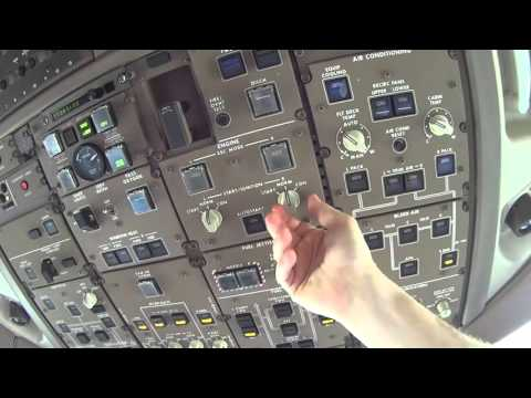 Boeing 777-200 Preflight Part 4 | Flight Deck Overhead Panel Checks