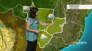 Previsão Centro-Oeste – Pouca chuva na Região