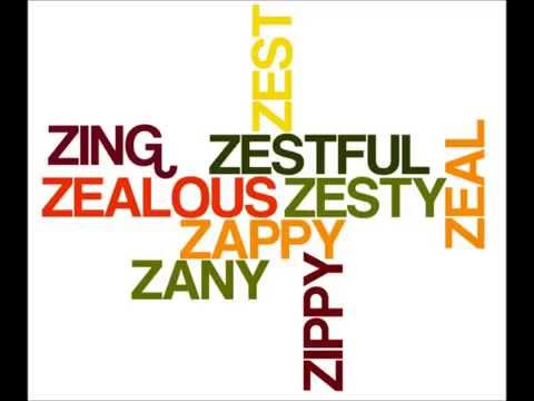 Positive Words from A to Z