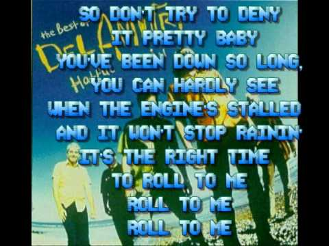 Roll to Me - Del Amitri [Lyrics]
