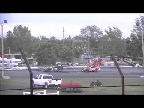 Norman County Raceway 5/24/12 RV Advantage Modifieds Heat 3