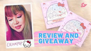 Makeup Review and Giveaway: ColourPop x Hello Kitty Eyeshadow Palette